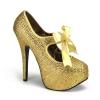 TEEZE-04R Gold Rhinestone